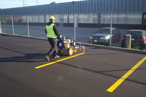 the benefits of parking lot line painting parking lot